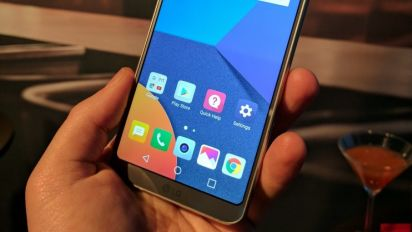LG G6 Is a basically a screen with a smartphone