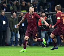Serie A: Nainggolan at the double as Roma storm past Inter Milan