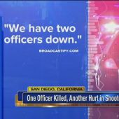 Police: 1 San Diego officer killed, 1 injured in shooting