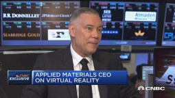 Applied Materials CEO: 'Bendable, foldable, flexible' displays in the future