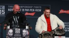 Dana White created interim featherweight belt because of huge logjam