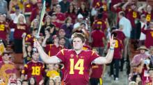 USC's Sam Darnold, the new star in L.A., isn't bothered by the spotlight