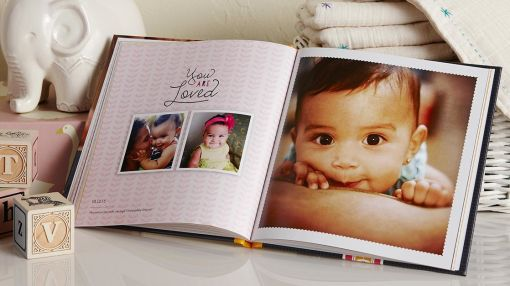 Enjoy 50% off Hard Cover Photo Books
