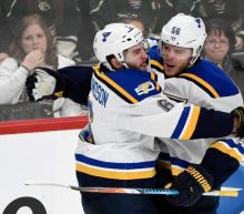 Blues eliminate Wild, unlikely duo scores Game 5 OT goal (Video)