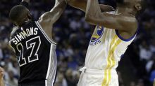 The Spurs spoiled Kevin Durant's Warriors debut with a big blowout
