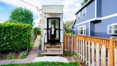 Inside Seattle's Wackiest Tiny Home