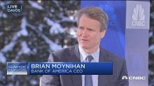 Bank of America CEO says interest rates going up for the 'right reason'