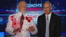 Twitter reacts to Don Cherry's blood-splatter suit