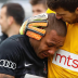 Soccer player left in tears after racist abuse from fans