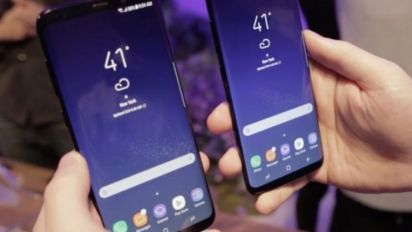Samsung Galaxy S8 and S8 Plus: Giant screens, new voice controls