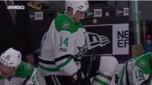 Jamie Benn murders his own hockey sticks for failing him (Video)